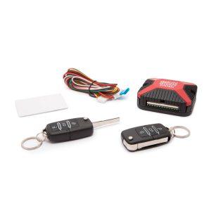 Távirányítós központizár vezérlő szett bicskakulcsos távirányítókkal - 55075B
