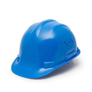 Munkavédelmi sisak kék - 10372BL