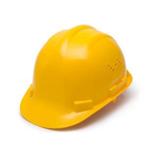 Munkavédelmi sisak sárga - 10372YL