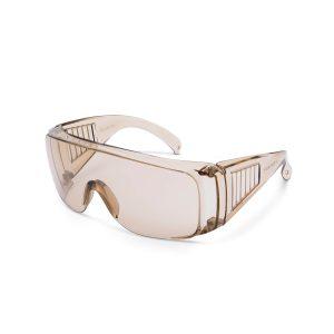 Professzionális védőszemüveg UV védelemmel amber - 10382AM