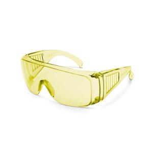 Professzionális védőszemüveg UV védelemmel sárga - 10382YE