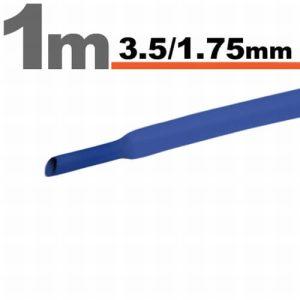 Zsugorcső Kék, 15 méter - 3,5 / 1,75 mm - 11021K