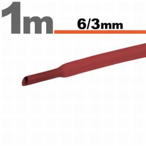 Zsugorcső Piros, 10 méter - 6 / 3 mm - 11022P