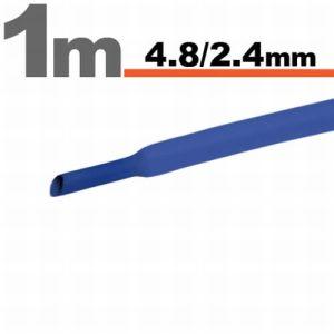 Zsugorcső Kék, 5 méter - 4,8 / 2,4 mm - 11025K