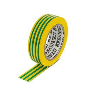 Szigetelőszalag 19 mm · 10 m zöld / sárga (10 db) - 11096X