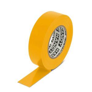 Szigetelőszalag 19 mm · 20 m sárga (10 db) - 11097YE