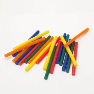Ragasztórúd - 7 mm - színes, 20 db / csomag - 11108B