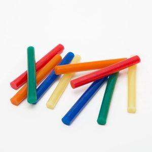 Ragasztórúd - 11 mm - színes, 10 db / csomag - 11109B