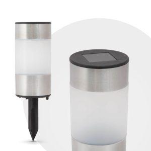 LED szolár lámpa - 13 cm - 11377B