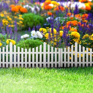 Virágágyás szegély / kerítés 60 x 23 cm - 11468