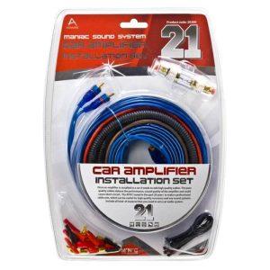 Autó Hi-Fi kábelszett 21 db-os - 20200
