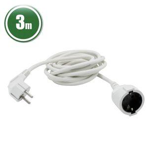 Hálózati lengő hosszabbító 3 x 1,0 mm² 3 m - 20500WH