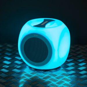 M.N.C. Chill Cube bluetooth hangszóró - vízálló, hordozható, kék - 37951BL