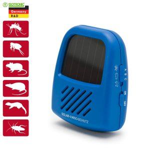 Napelemes kártevő és rovar riasztó variálható frekvenciával - 55647
