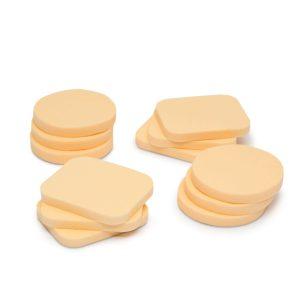 Smink / alapozó szivacs szett 12 db / csomag - 57137