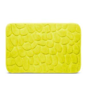 Fürdőszobai kilépőszőnyeg (sárgászöld) 60 x 40 cm - 57158D