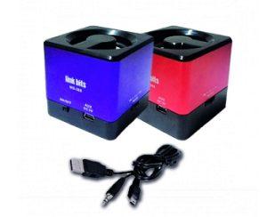 Külső, hordozható USB hangszóró SD, qubik - Link bit - WS-388