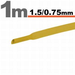 Zsugorcső Sárga, 20 méter - 1,5 / 0,75 mm - 11019S