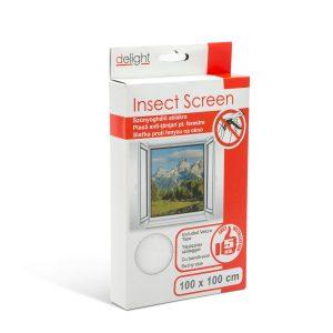 Delight Szúnyogháló ablakra 100 x 100 cm fehér - 11600WH