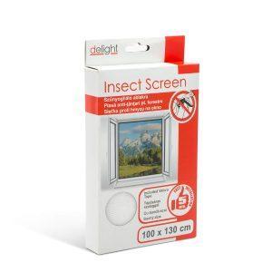 Delight Szúnyogháló ablakra 100 x 130 cm fehér - 11601WH