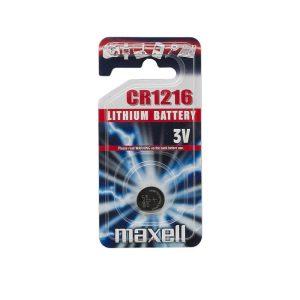 Maxell Gombelem CR 1216 Li • 3 V - 18743