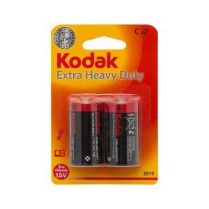 Kodak ZINC extra heavy duty elem C 2 db / bliszter - 18807-2