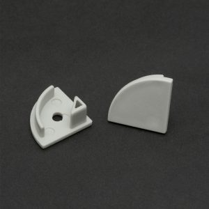 PHENOM LED aluminium profil végzáró 1 pár (41012höz) - 41012E