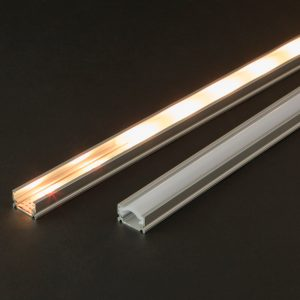 PHENOM LED aluminium profil takaró búra opál 1000 mm - 41014M1