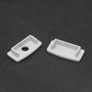 PHENOM LED aluminium profil végzáró 1 pár (41015-höz) - 41015E