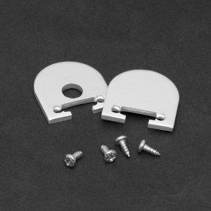 PHENOM LED aluminium profil végzáró  1 pár (41020-hoz) - 41020E