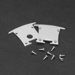 PHENOM LED aluminium profil végzáró 1 pár (41021hez) - 41021E