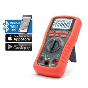 MAXWELL Smart, digitális multiméter - Bluetooth, LED háttérvilágítás - 25521