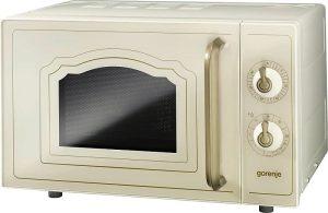 Gorenje MO4250CLI Classico szabadonálló mikrohullámú sütő + grill, bézs színben