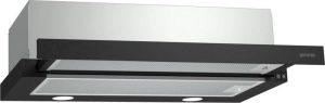 Gorenje BHP623E11B beépíthető páraelszívó, 60 cm, dupla szűrő, fekete