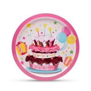 Fém tálca - Happy Birthday - 55932F