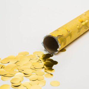 Family Pound - Konfetti kilövő - arany színű korongok - 55959C