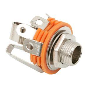 JACK aljzat beépíthető Sztereo 6,3 mm - 05130