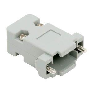 D-SUB műanyag ház 2 és 3 soros csatlakozóhoz - 05140