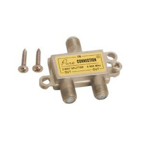 F splitter 5-900 MHz - 05256