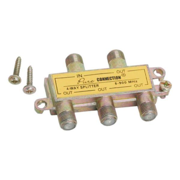 F splitter 5-900 MHz - 05258