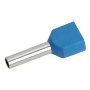 Érvéghüvely 2 x 2,5  mm² vezetékekhez 100db - 05724