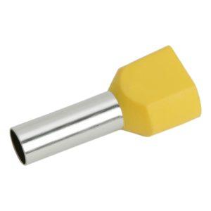 Érvéghüvely 2 x 6,0 mm² vezetékekhez 100db - 05726