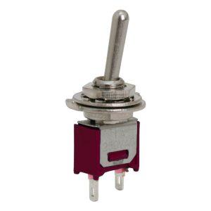 Karos kapcsoló 1 áramkör - 1 A - 250 V - 5 db / csomag - 09004