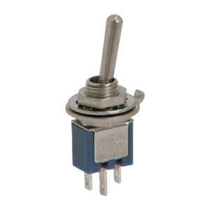 Karos kapcsoló 1 áramkör - 1 A - 250 V - 10 db / csomag - 09007
