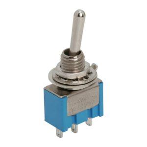 Karos kapcsoló 1 áramkör - 3 A - 250 V - 5 db / csomag - 09010