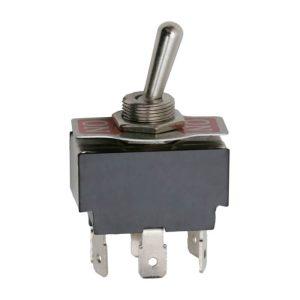 Karos kapcsoló 2 áramkör 10A-250V előlappal - 09017