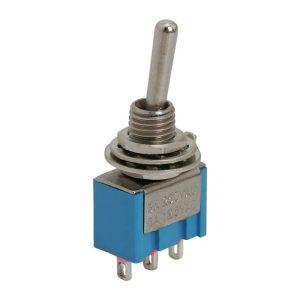 Karos kapcsoló 1 áramkör 3A-250V - 5 db / csomag - 09018
