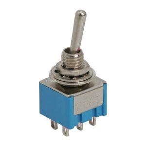 Karos kapcsoló 2 áramkör 3A-250V - 10 db / csomag - 09030