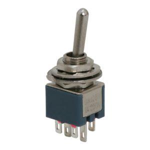 Karos kapcsoló 2 áramkör 1A-250V - 10 db / csomag - 09031