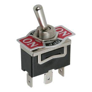 Karos kapcsoló 1 áramkör 10 A - 250V - előlappal - 5 db / csomag - 09053